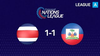 #CNL Highlights - Costa Rica 1-1 Haiti