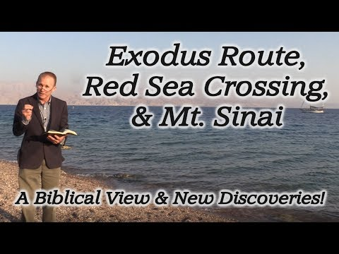 Moses, The Exodus Route, Red Sea Crossing, Mt. Sinai, Ten Commandments, Egypt, Midian, Saudi Arabia