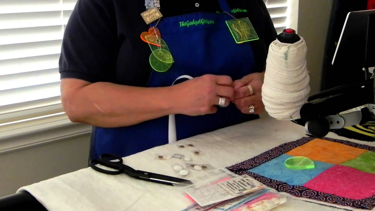 How to Hold your Quilting Gadgets - YouTube : quilting gadgets - Adamdwight.com