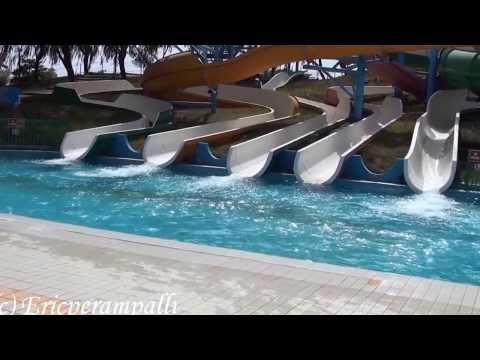 Visit to Dreamland Aqua Park & Dubai Mall 2012