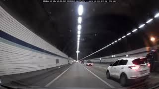 [파인뷰 X5 블랙박스] 주간, 야간, 터널 주행영상