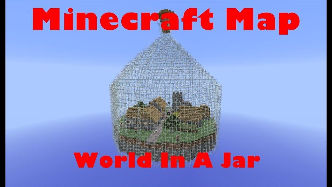 Мир в бутылке 2 для Minecraft - Скачать Карты