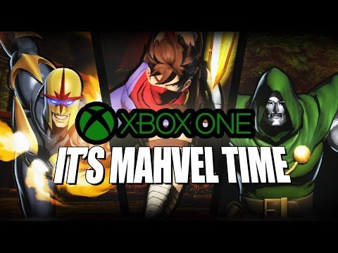 IT'S MAHVEL TIME: Xbox One Ranked – Ultimate Marvel Vs. Capcom 3