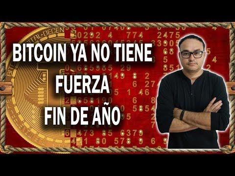 Bitcoin Ya no tiene Fuerza Fin de Año | BITCOIN V139
