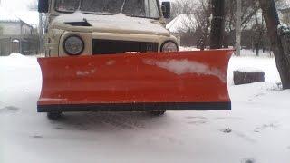 луаз чистит снег ДНЕПР