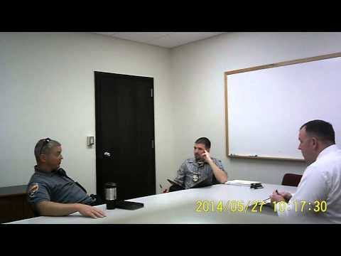 Part 1 of Campbell Police Chief Tim Kelemen Confession