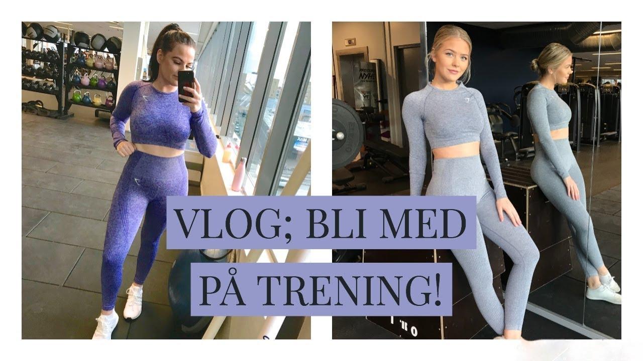 93a93ea0ec17be VLOG  Gymshark Vital Seamless Try on - Bli med på trening! - YouTube