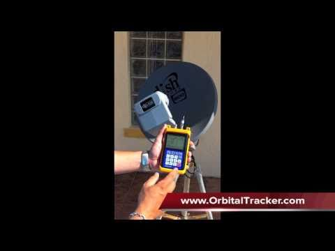 Tracker Light Meter for Dish Network ID's the Satellite!