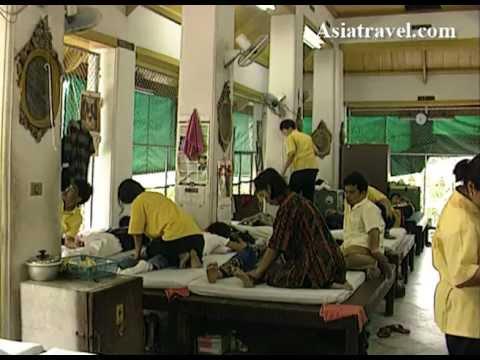 Thai massage School, Bangkok by Asiatravel.com