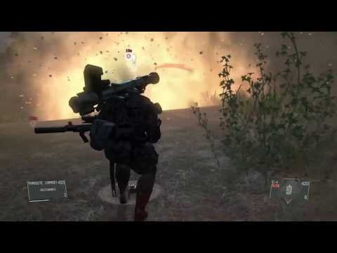 MGSV - Parasite Suit All Abilities Gameplay | GamerHow | Gamers