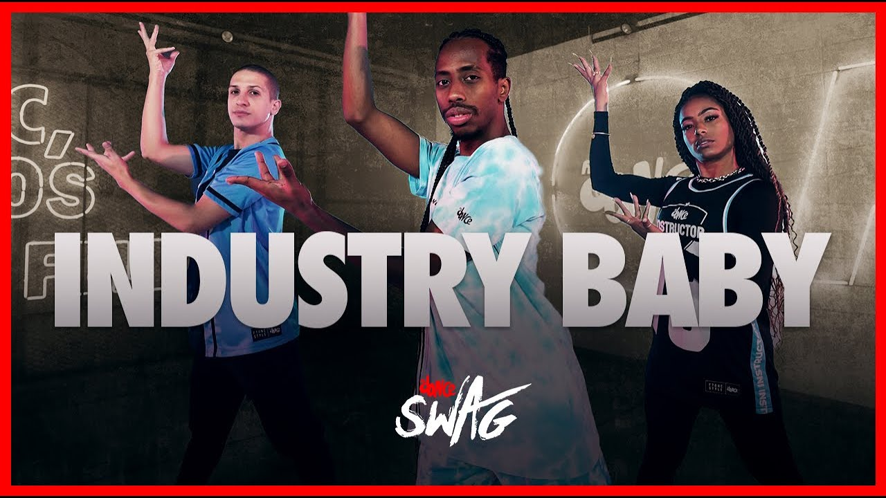Industry  Baby - Lil Nas X, Jack Harlow | FitDance Swag (Coreografia) | Dance Video