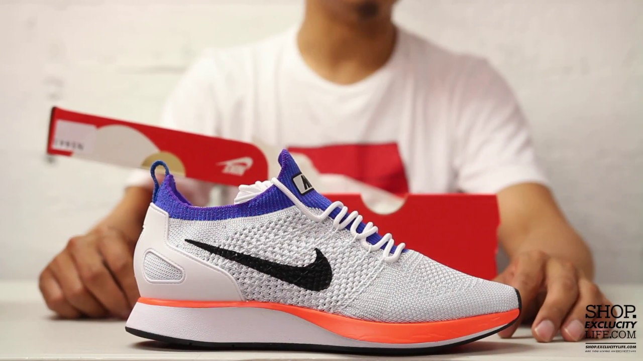 dca1818a125 Nike Zoom Mariah Racer Flyknit Unboxing Video at Exclucity - YouTube