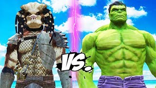 HULK VS PREDATOR EPIC BATTLE