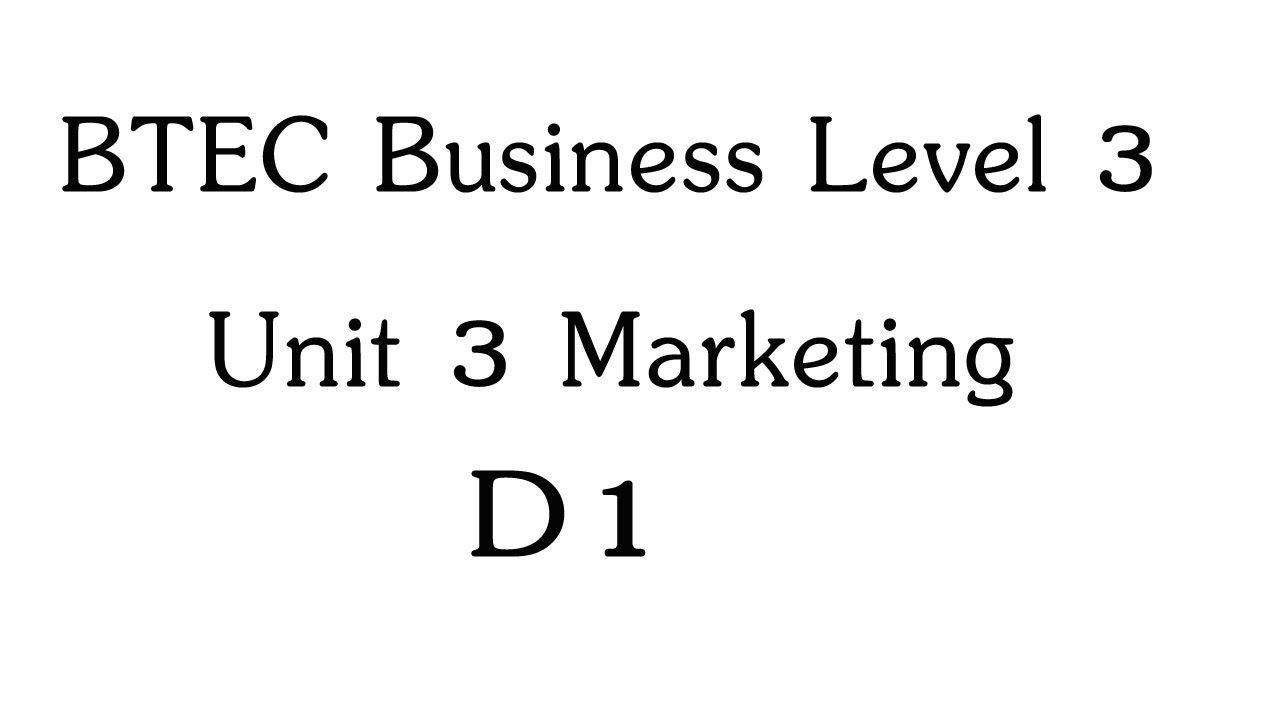 D1 for business