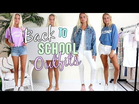 OUTFIT IDEAS FOR SCHOOL!! Back to School Outfits! 2017-2018 | #fashan weekly Ep. 2
