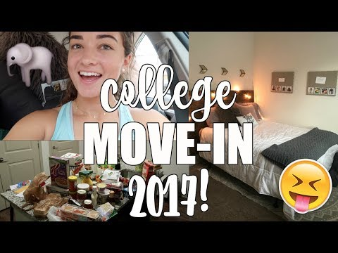 COLLEGE MOVE IN VLOG | UNIVERSITY OF ALABAMA