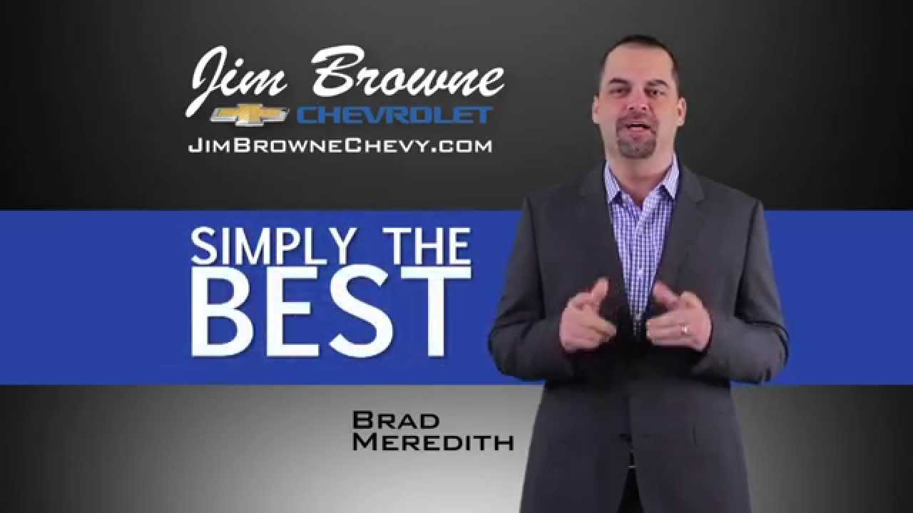 Jim Browne Chevrolet - Simply the Best 30 sec ad - YouTube