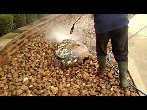 PowerHouse Pressure Washing Large Rocks
