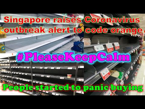Singapore panic buying 100% real [4K]