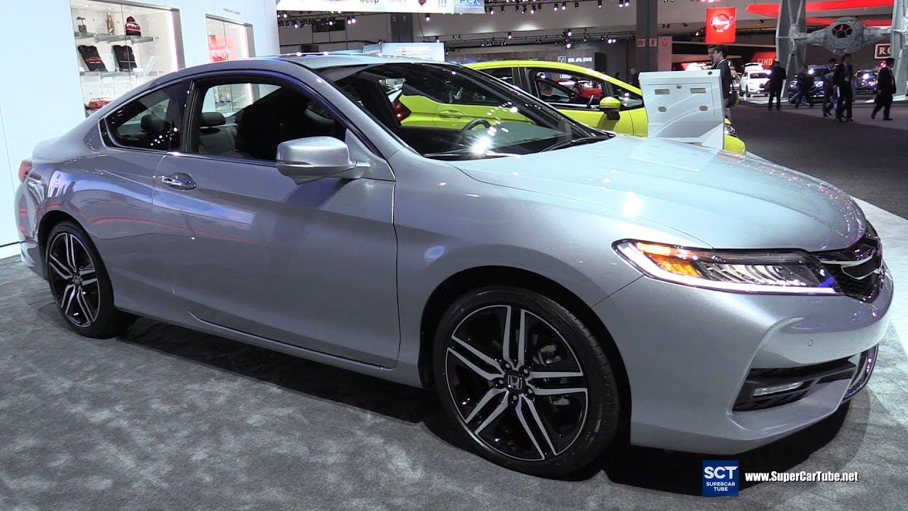 2017 Honda Accord Touring V6 - Exterior and Interior ...