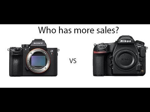 Sony A7RIII vs Nikon D850 -- Which one is selling better