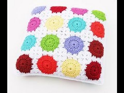 Crochet Cushion Patterns Youtube