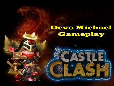 Castle Clash: Devo Michael 9/10 Skills 5/8 Tenacity Gameplay And Review