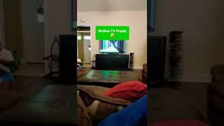 Cracked TV Screen PRANK | Couple's Pranks | Quarantine Pranks