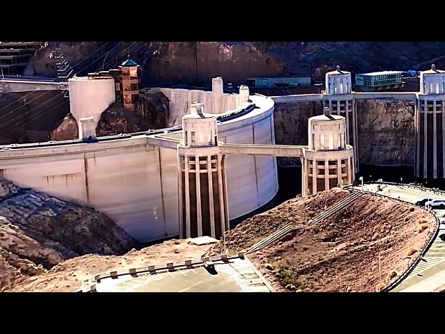 Hoover Dam LOW WATER LEVEL  JUNE 2018