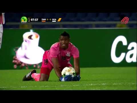 ZAMBIA VS UGANDA (FULLGAME 1ST HALF)  2018