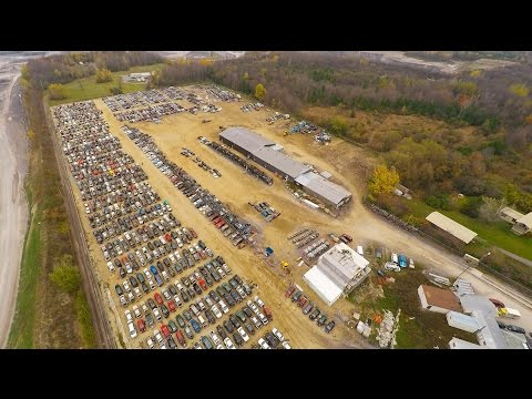 CANADA's LARGEST junkyard with Free auto parts