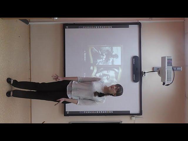 """Изображение предпросмотра прочтения – КГБОУ""""Школа-интернат № 2"""" читает произведение «Зинка» Ю.В.Друниной"""