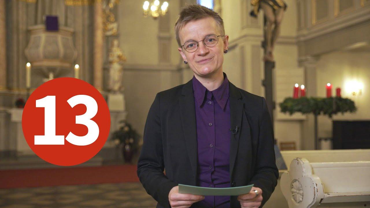 Türchen 13 - Pfarrerin Rabe und die Freude