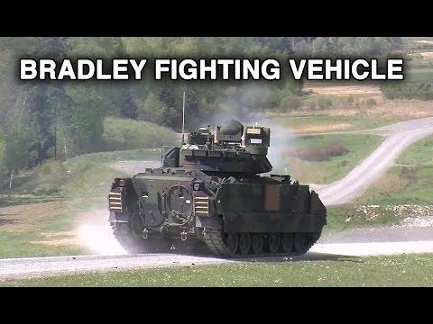 Bradley Fighting Vehicle Gunnery At Grafenwöhr Training Area