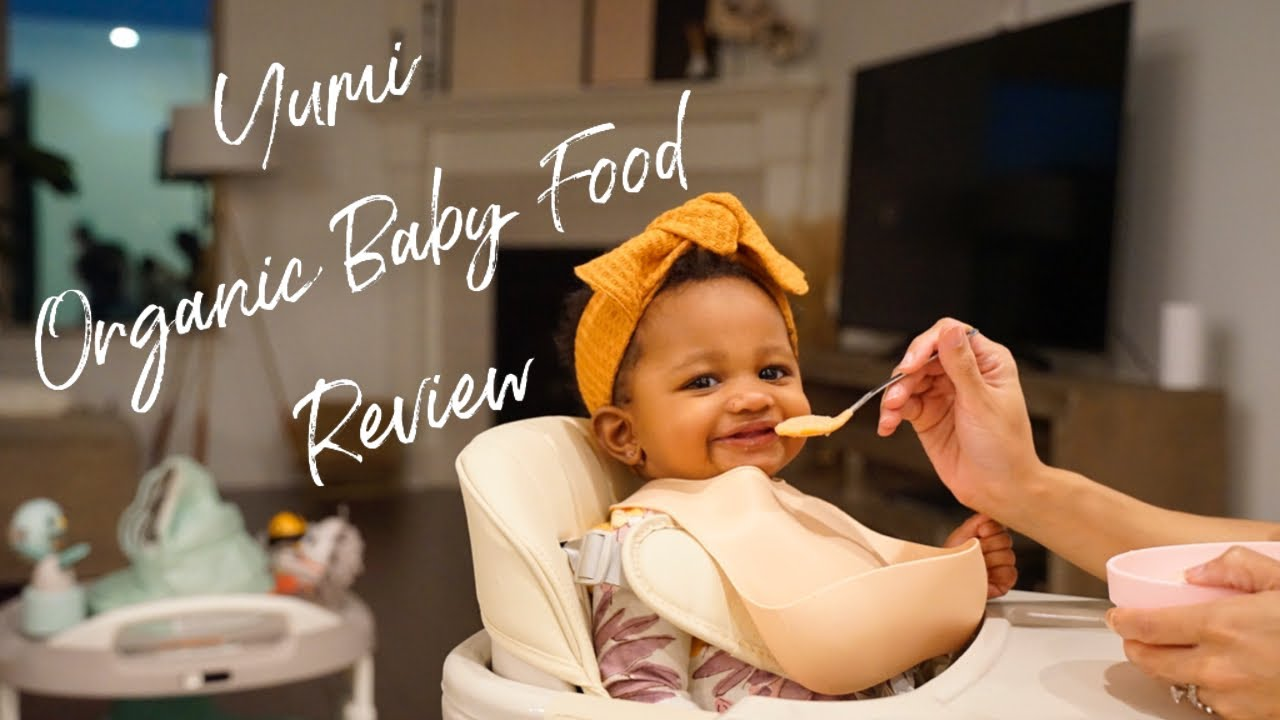 Yumi Organic Baby Food Unboxing and Review