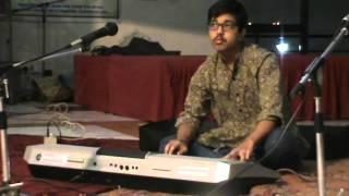 """""""Shree Ramchandra Kripalu Bhajman by Lata Mangeshkar"""" on Keyboard by Vishnu Raghuraman"""