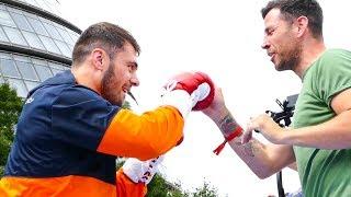 Dave Allen PAPI DE LA GIANT SLAYER? Matchroom Boxing Public Workout