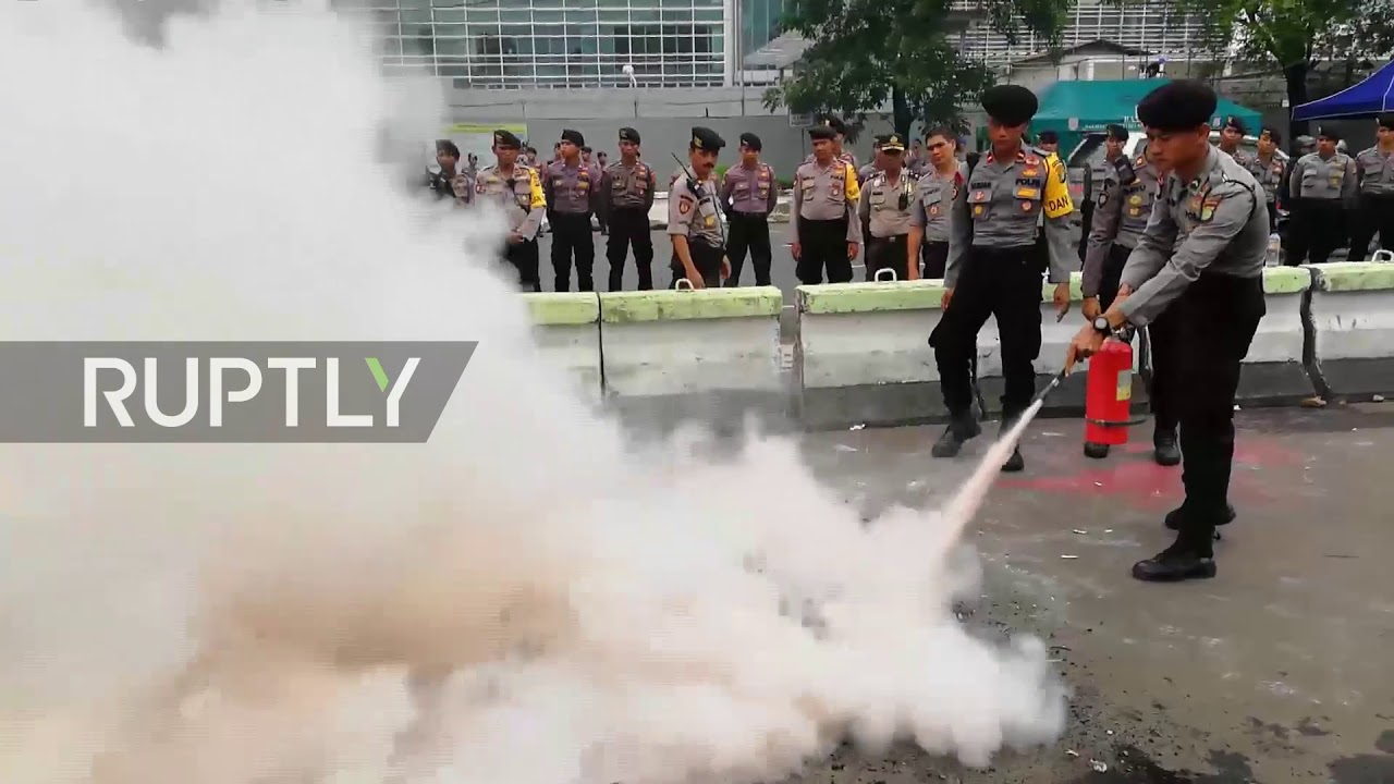 Indonesia: US and Israeli flags set ablaze at protest against Jerusalem plan