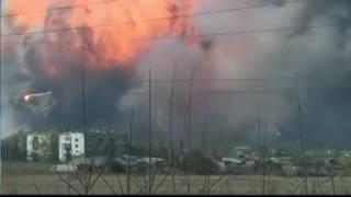 Взрывы Балаклея лучшие моменты пожар на складе боеприпасов лучшее 23.03.17
