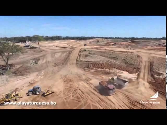 Avance de Obras Agosto 2015 - Playa Turquesa