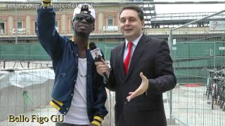 BELLO FIGO GU (ex GUCCI BOY), the black Eminem, with Andrea Diprè