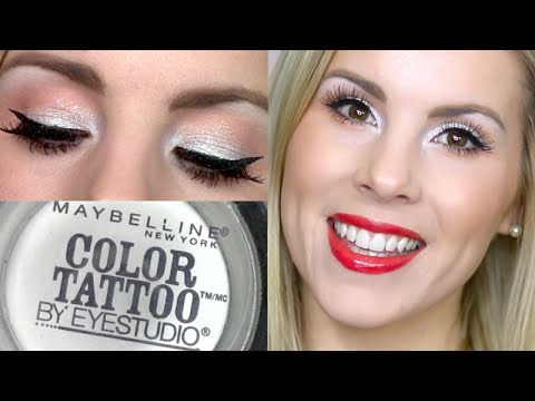 Holiday Makeup Tutorial | Too Cool Maybelline Color Tattoo