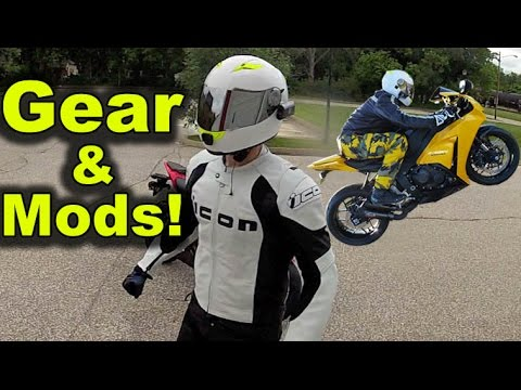 My Motorcycle Gear and Mods - Long Term Review