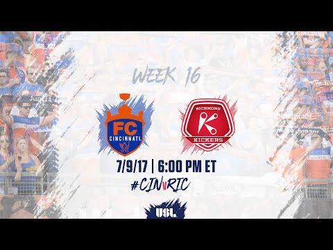 USL LIVE - FC Cincinnati vs Richmond Kickers 7/9/17