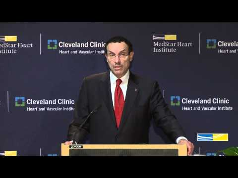DC Mayor Vincent Gray Remarks on MedStar Heart Institute/Cleveland Clinic