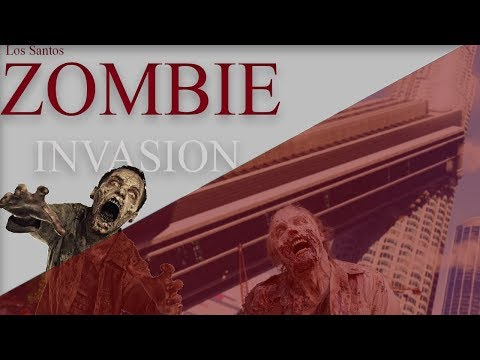 GTA 5 - Rockstar Editor - Zombie Invasion Part 1