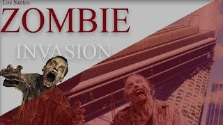 GTA 5 - Rocĸstar Editor - Zombie Invasion Part 1