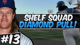 SO MANY UPGRADES! DIAMOND PULL! SHELF SQUAD #13! MLB THE SHOW 17!