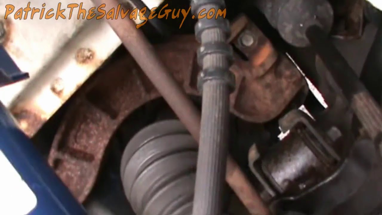 Ford Taurus Front Strut And Coil Spring Installation