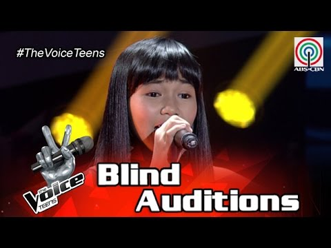 The Voice Teens Philippines Blind Audition: Jona Soquite - Anak Ng Pasig